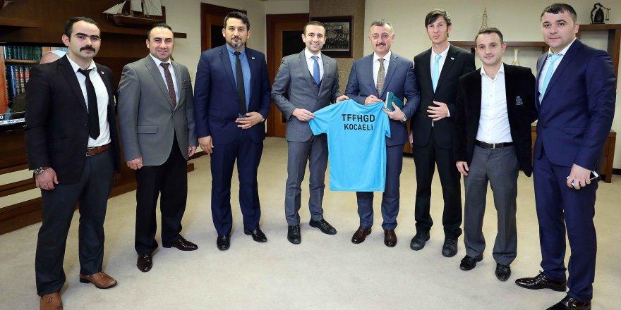 Başkan Büyükakın  ''Kocaeli markasına FİFA Hakemi yakışır''