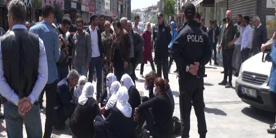 Eylem yapmak isteyen HDP'li kadınlara izin verilmedi