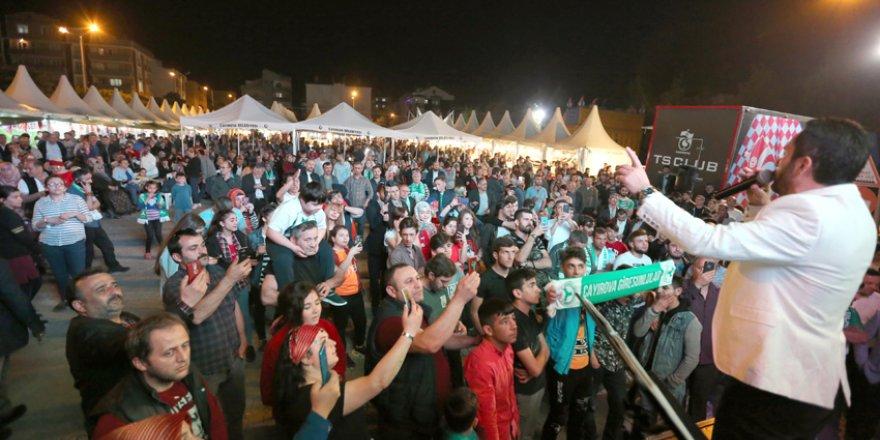 Hamsi festivaline muhteşem final