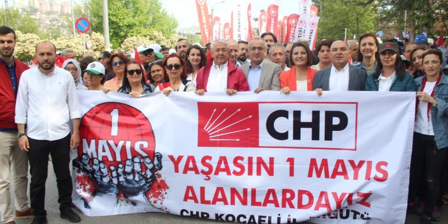 CHP 1 Mayıs'ta tam kadro