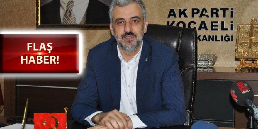 Ak Parti İl Başkanı Abdullah Eryarsoy, istifa etti!