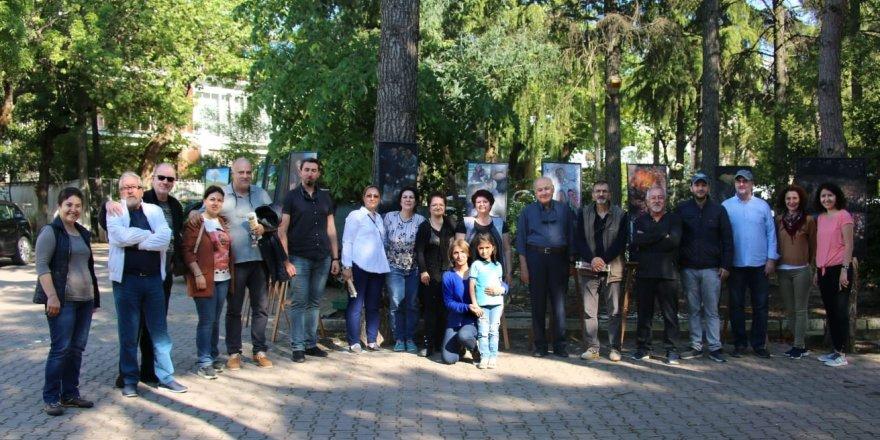 İrfan Ertel maden işçilerini sergiledi