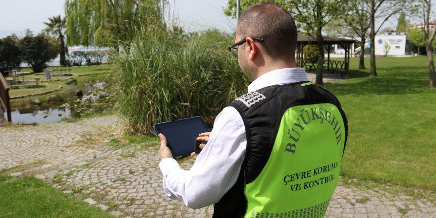 Büyükşehir'den çevre koruma yazılımı