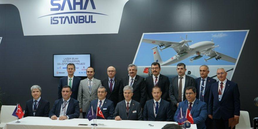 Lazer Hava Savunma Sistemleri için imzalar atıldı