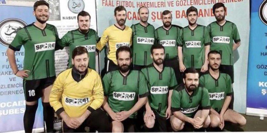 Hakemlerin Ramazan Futbol Turnuvası start aldı