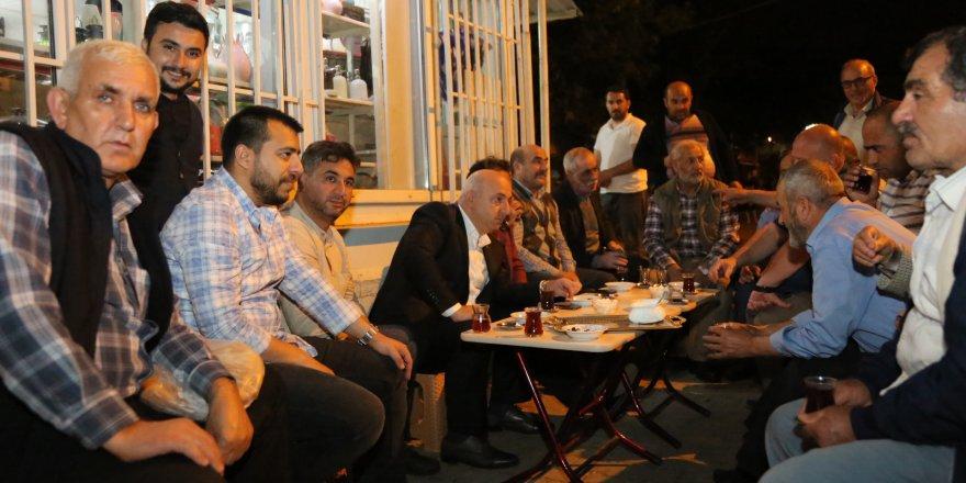 MUZAFFER BIYIK:  Ramazan'da vatandaşlarla buluşuyor