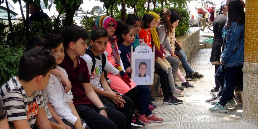 Arkadaşları, Batuhan'ı son yolculuğuna uğurladı