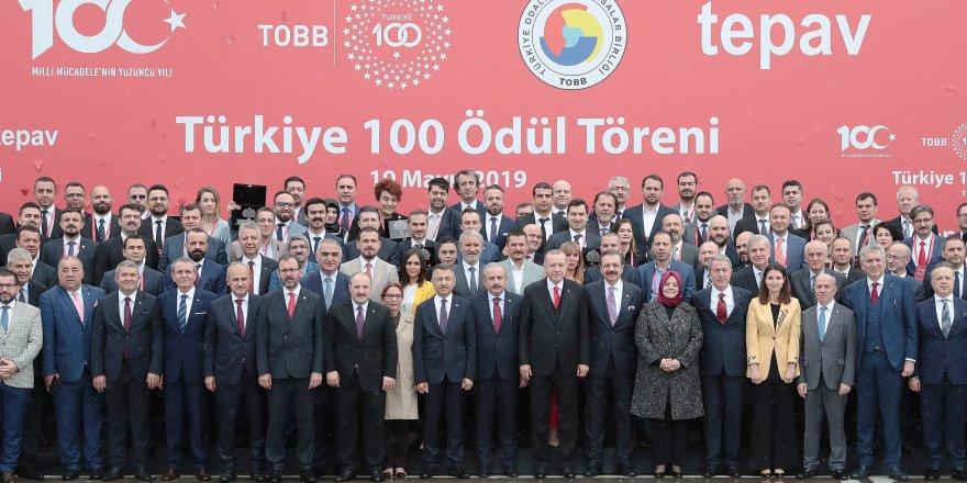 'TÜRKİYE 100' YARIŞMASINDA:   Gebzeli 2 şirkete ödül