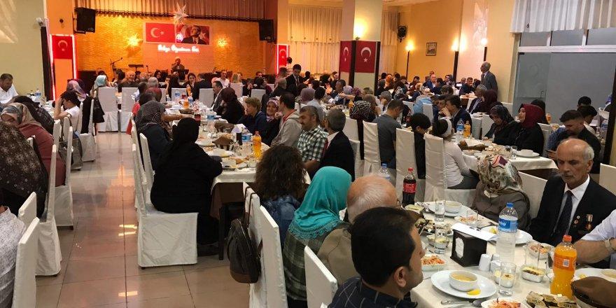 Şehit ve Gazi yakınlarına iftar yemeği