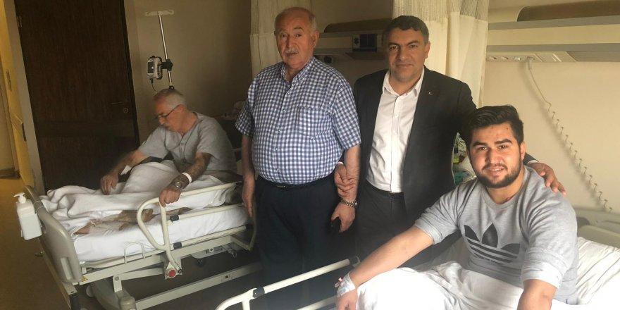 DİLOVASI: Şayir'den Hasta Ziyareti