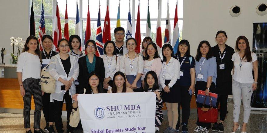 Shanghai Üniversitesi'nden GOSB ziyareti