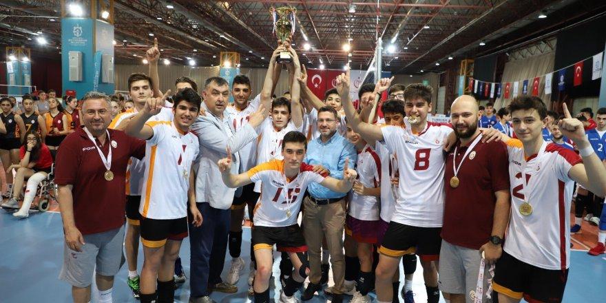 Voleybol Küçük Erkekler ve Kızlar Türkiye Şampiyonası sona erdi