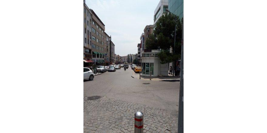 Bayramda cadde sakindi