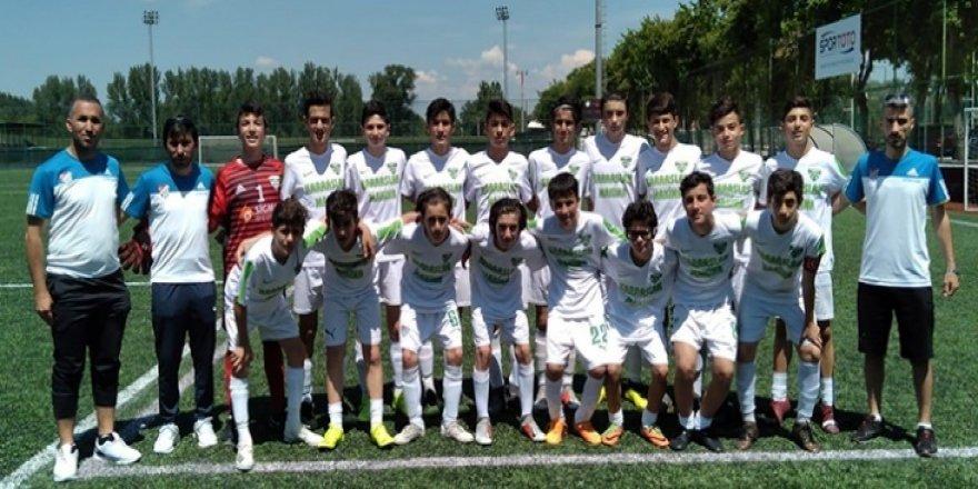 U14 maçları Eskişehir'de