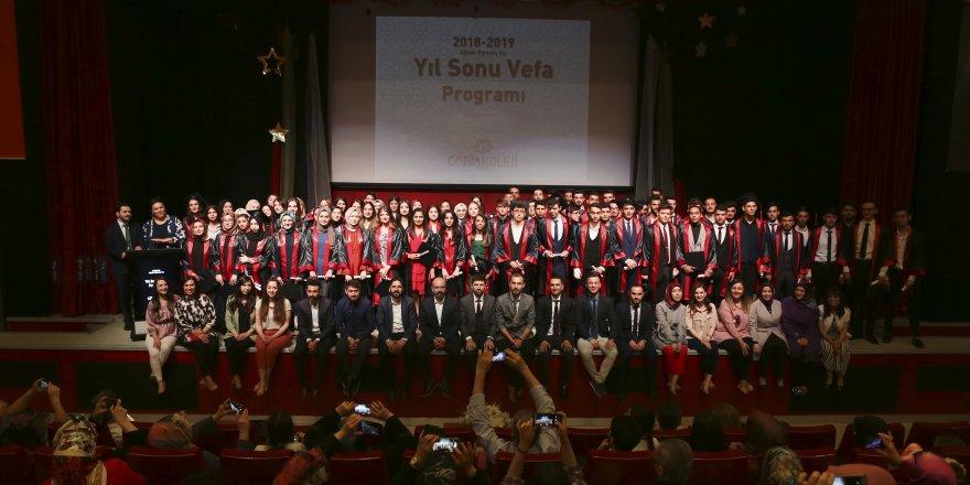 Gebze Çözüm Koleji'nden yıl sonu etkinliği