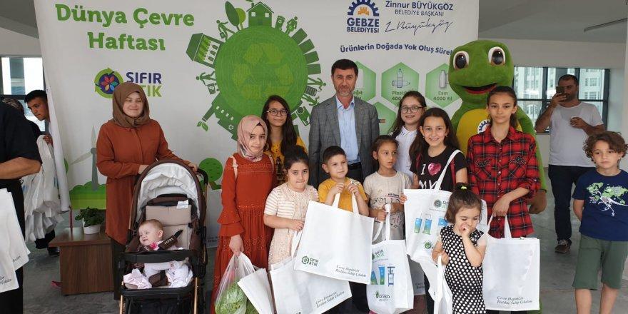 GEBZE'DE: Dünya Çevre Günü etkinliği