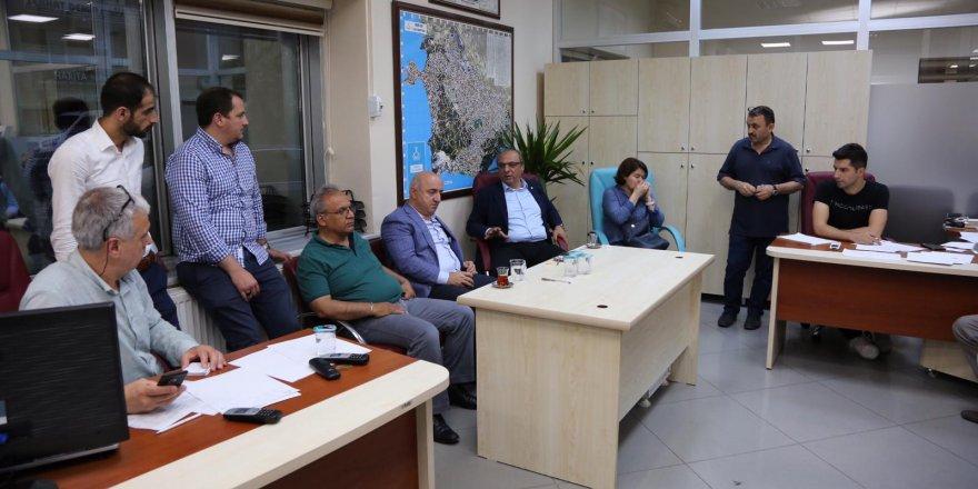 Darıca'da kriz masası oluşturuldu