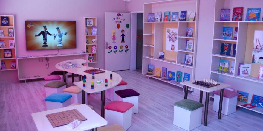KARDEŞ OKUL OLARAK BELİRLEDİ:  LG'den Köseler İlkokulu'na destek