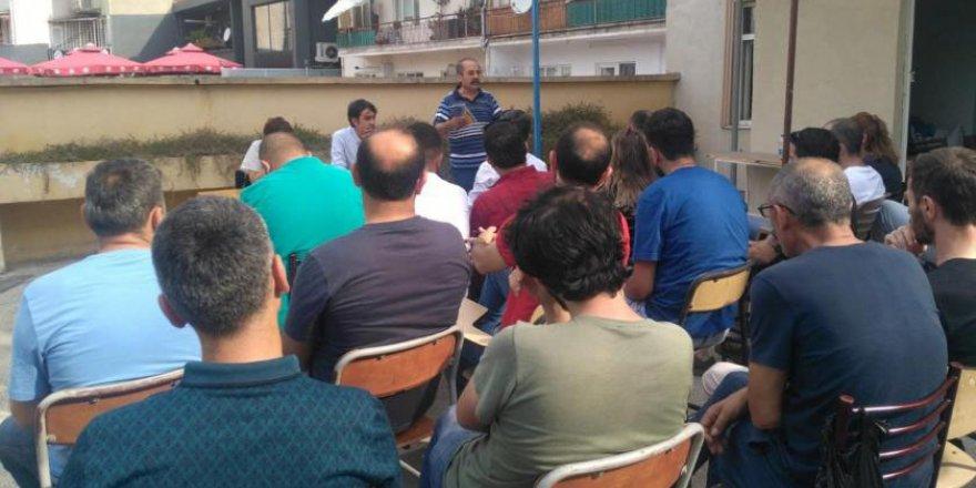 EMEP'den kriz ve mücadele paneli