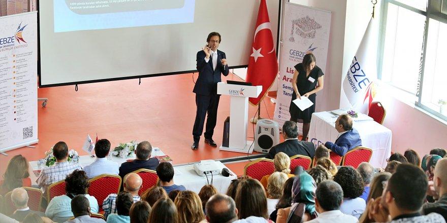 GTÜ'de lisansüstü araştırmalar  sektör temsilcileri ile paylaşıldı