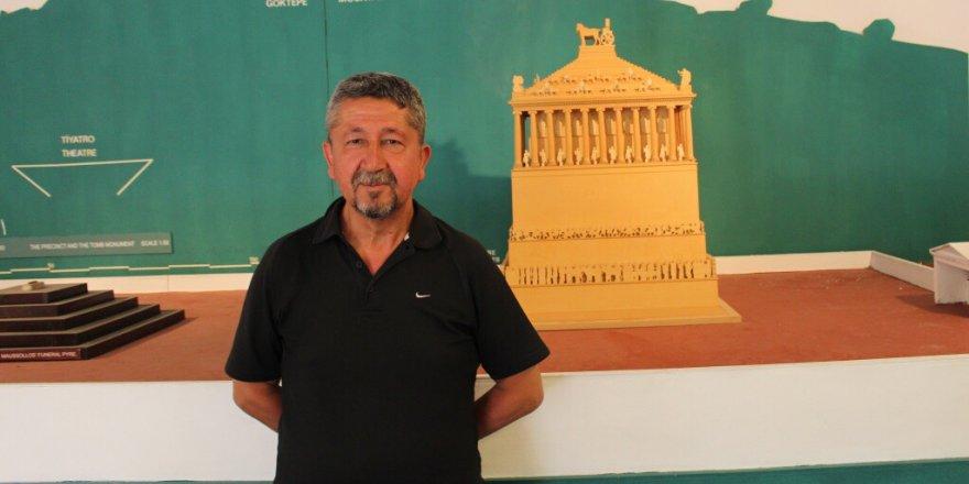 Rıdvan Şükür, Halikarnas Mozolesini fotoğrafladı