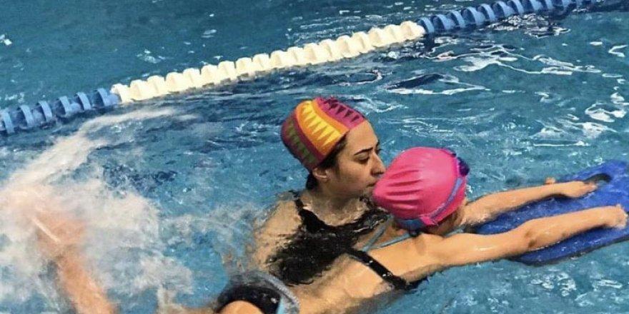 Yaz okullarının favorisi yüzme