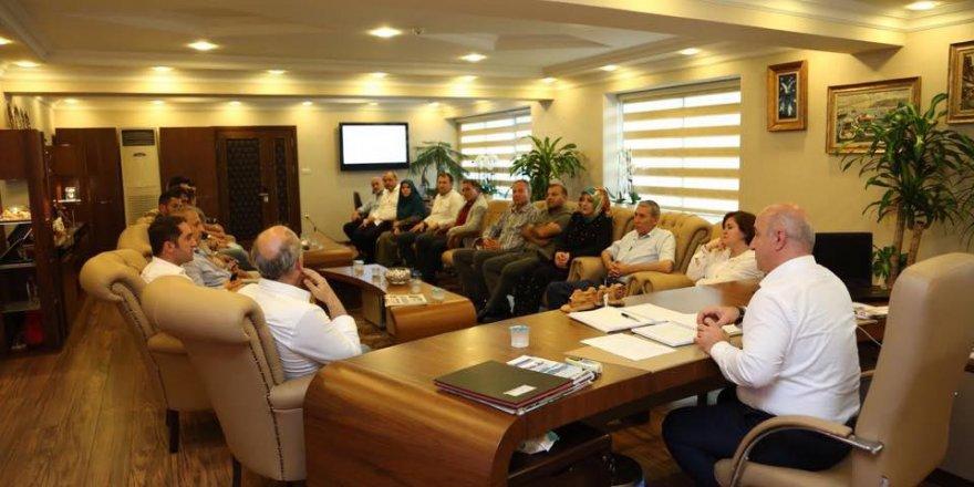 DARICA: Bıyık'tan CHP'ye brifing