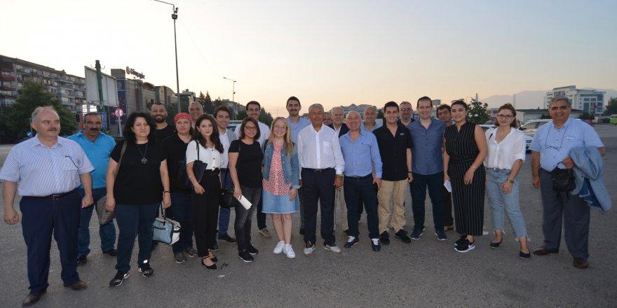 CHP'li avukatlar Şile'de görev yaptı