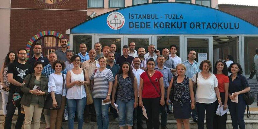 Recep Dursun İstanbul'da görev yaptı