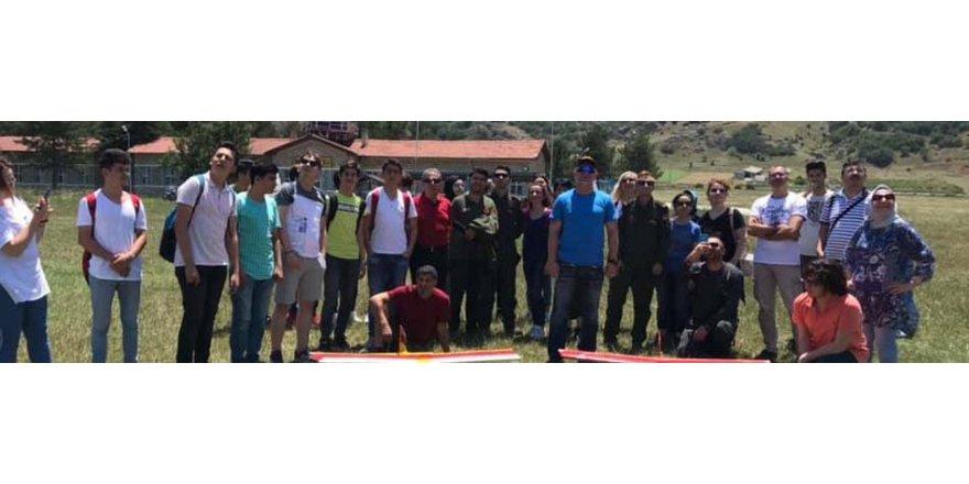 DARICA:  THK öğrencileri Eskişehir'e götürdü