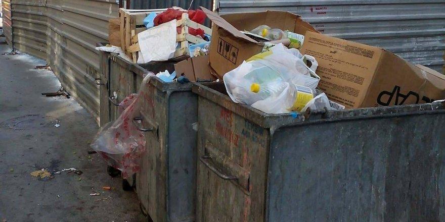 Çöpler gelişi güzel atılıyor!