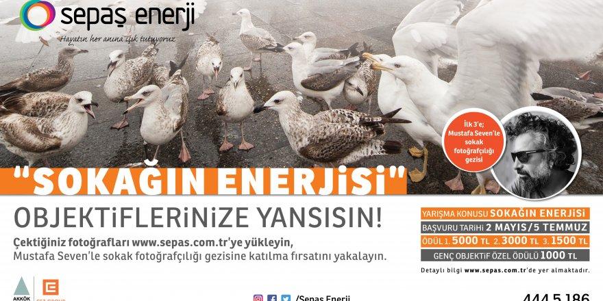 SEPAŞ ENERJİ'DEN YARIŞMA: 'Sokağın Enerjisi'nde sona yaklaşıldı