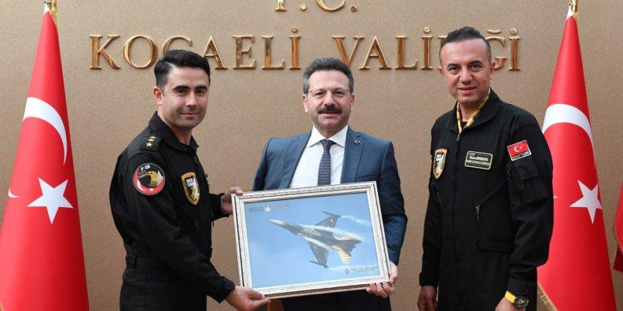 Solo Türk ekibinden ziyaret