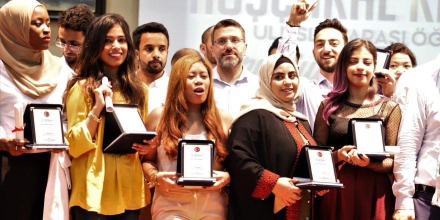90 misafir öğrenci mezun oldu