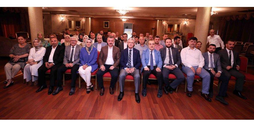 AKP il yönetiminden Büyükakın'a ziyaret