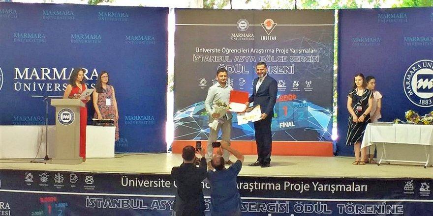 TÜBİTAK ARAŞTIRMA PROJE YARIŞMASI:Gebze Teknik Üniversitesi'ne ödül
