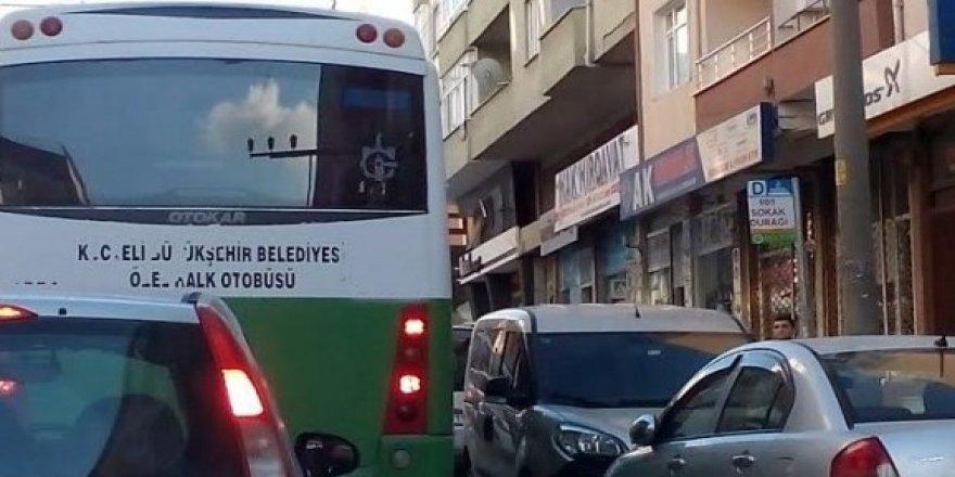 Otobüs durakları işgal altında!