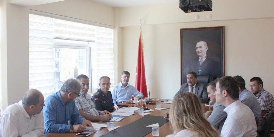 GEBZE: Kurban bayramı komisyon toplantısı