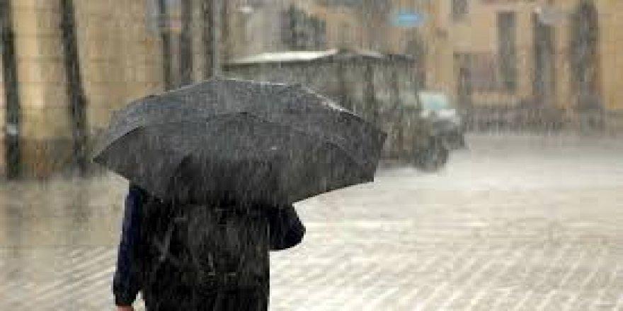 Kocaeli'de yağmurlu hava