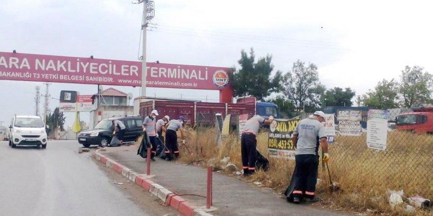 Nakliyeciler Terminali'nde temizlik