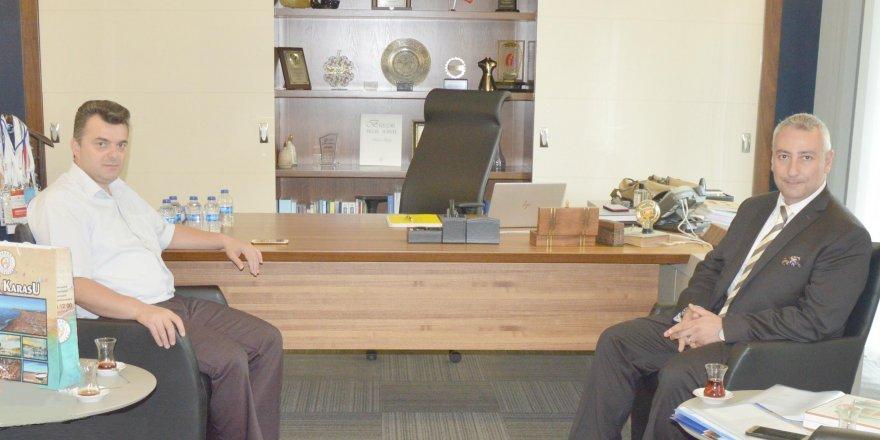 SEDAŞ'tan belediye başkanına ziyaret