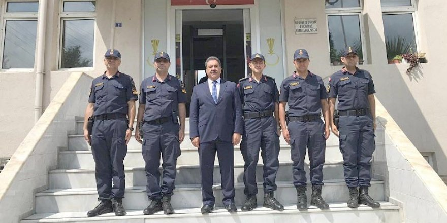 Kaymakam Güler'den Jandarma'ya ziyaret