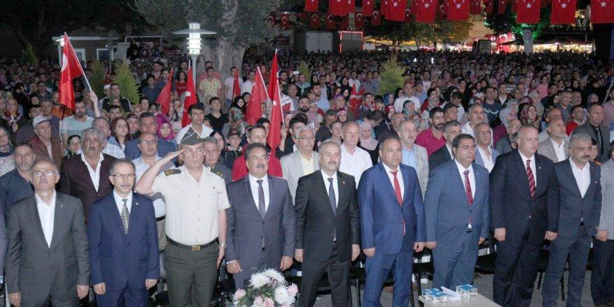 Gebze'de 15 Temmuz etkinliği