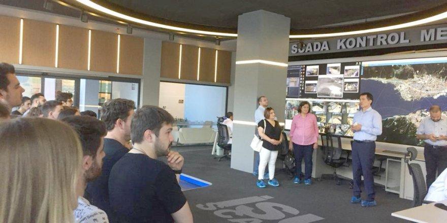 SCADA Kontrol Merkezini incelediler