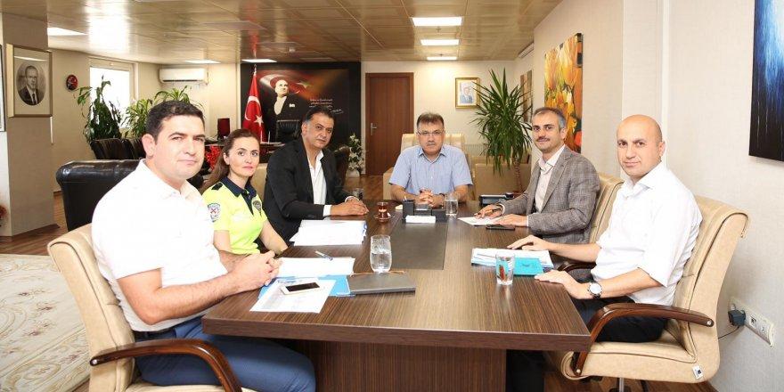 ÇAYIROVA:Trafik değerlendirme toplantısı yapıldı