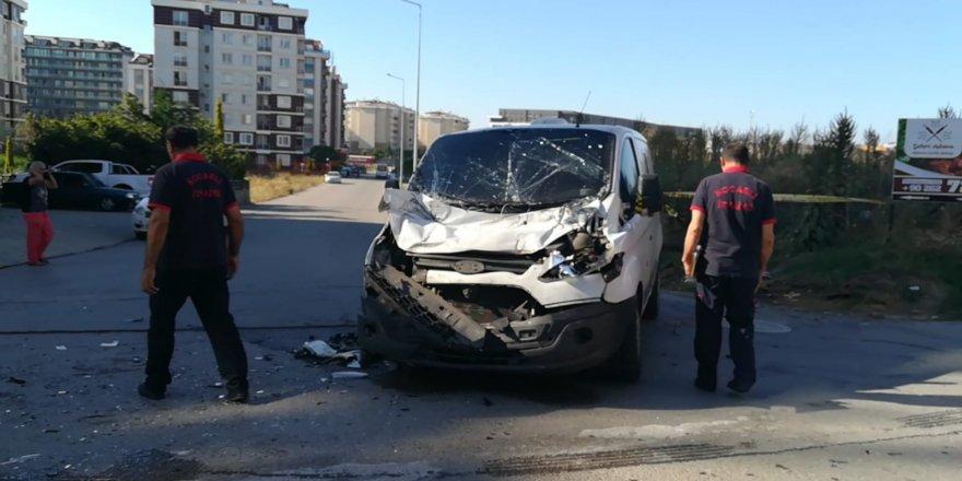 Çayırova'da kaza: 3 yaralı