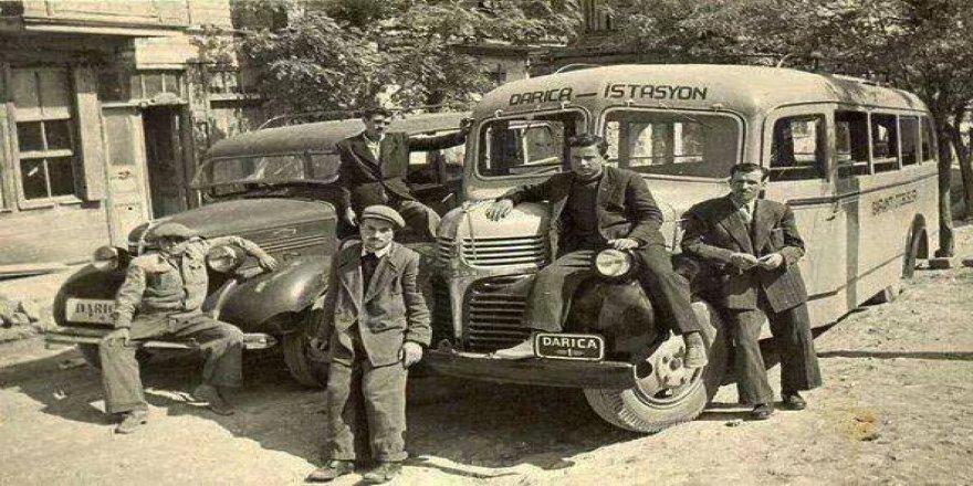 Eski  Gebze-Darıca minibüsleri