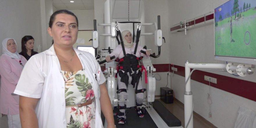 DARICA FARABİ EĞİTİM VE ARAŞTIRMA HASTANESİNDE: Robotik Yürüme Cihazıhizmete girdi