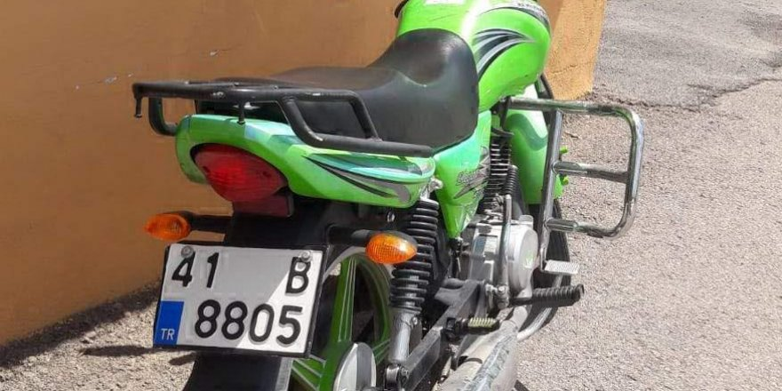 Sürücü kursunun motosikletleri çalındı