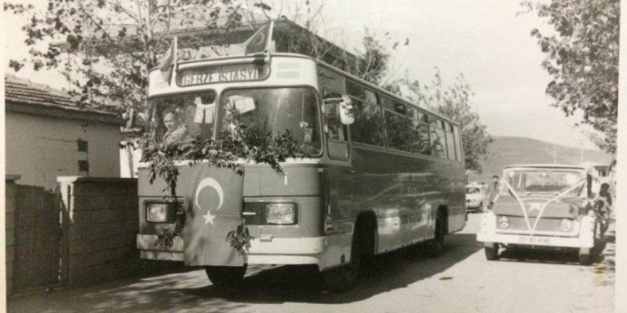 Belediyenin otobüsü..